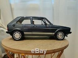 1/12 1800 Volkswagen Golf Gti Mk1 1983 More Blue G049 Ottomobile Otto