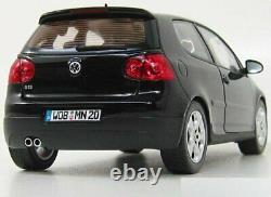 1/18 Norev Volkswagen Golf Gti Black 2004 New In Box Home Delivery