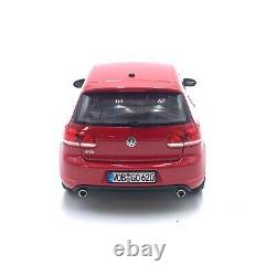 1/18 Norev Volkswagen Golf Gti Tornado Red 2009 New Home Delivery Box