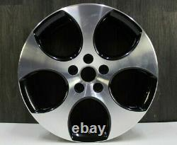 1x 18 Inches Detroit Alloy + Vw Golf 5 V 6 VI Gti + 7, 5x18 Et51+1k0601025ba