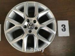 1x Alloy Vw Golf 5/6 Gti Watkins Glen 7,5jx18 Et51 5k0601025af