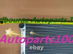 2 Row Alloy Radiators For Volkswagen Vw Golf Mk1/2 Gti/scirocco 1.6 1.8 8v Mt