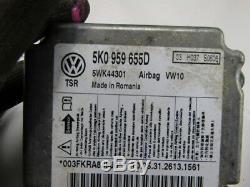 5k0959655d Complete Airbag Set Volkswagen Golf VI Gti 2.0 155kw 6m B 5p (2010) R