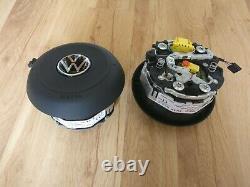 Airbag Volant Vw Golf Mk7 VII 7 R-line Gti Gtd New Logo Vw 2021