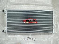 Aluminum Radiator + Fan For Volkswagen Vw Golf Mk3 Gti Vr6 1994-1998