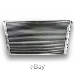 Aluminum Radiator Volkswagen Golf Gti Mk4 Seat Leon Audi Tt Mk1 + Fans