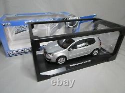 Ar654 Norev 1/18 Vw Volkswagen Golf V Gti 2005 Silver Met 188448 Very Good State
