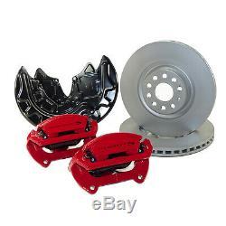 Braking Before Vw Golf 7 Gti Clubsport S Calipers 340mm New Brake Discs