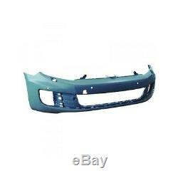 Bumper With Washing Lighthouse And Radar Before Volkswagen Golf 6 Gt / Gti / Gtd For 2