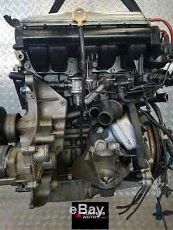 Complete Engine Volkswagen Golf IV Gti V5 2.3l Ess 110kw Year 1998 / Agz