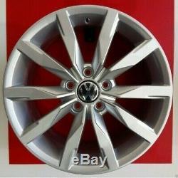 F893 / O Set 4 Alloy Wheels 17 Volkswagen Golf 5 Gti R32 Ece Made Italy