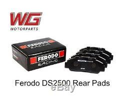 Ferodo Ds2500 Rear Brake Pads For Volkswagen Golf Mk6 Gti Pn