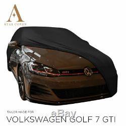 From Tarpaulin Protection Compatible With Volkswagen Golf Gti 7 For Interior Black