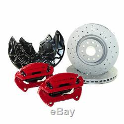 Front Brake System Vw Golf 7 Gti Clubsport S Calipers 340mm Brake Discs