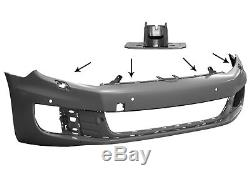 Front Bumper Volkswagen Golf 6 / VI Gt Gti Gtd Parking Sensors