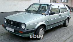 Front Door Right + Vw Golf II 2 2/3-türig +1989-1992 + Passenger Door