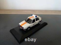 Golf Gti Gendarmerie Rijkswacht 1/43 Minichamps