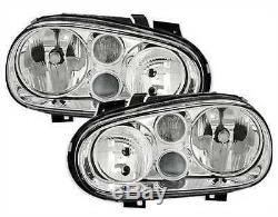 Headlights Front Lights Volkswagen Golf 4 Gti Sdi Tdi 9 Right Left Fog