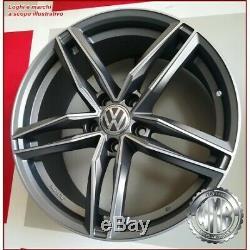 Light Ma 4 Alloy Wheels 18 -et45 For Volkswagen Golf 5 6 7 Gti R Plus