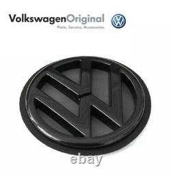 Logo Back Box Vw Golf III 3 Mk3 Black Badge Original 1h6853630c01c Gti