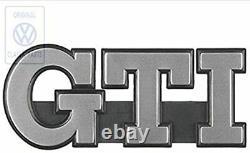 Logo Vw Calandre Gti Golf 2 II Mk2 Badge Original 191853679lgx2 Very Rare Oem