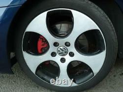 Lot 4 Alloy Wheels + Tires Volkswagen Golf 6 2.0 Tsi Gti 16v Turbo / R42331927