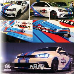 Martini Racing Kit Golf Gti Mk5 June 7 Sticker Decal Stickers Volkswagen
