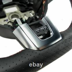 Mfa Volant Sport Flattened Leather Perforated Vw Golf 6 VI Gti R-line Sirocco 137