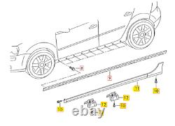 New Original Vw Golf Mk5 Gti 4 Side Door And Skirts Their Montage Parts