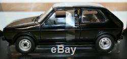 Norev 1/18 Diecast 188 487 1976 Vw Volkswagen Golf Gti Black