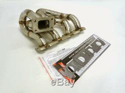 Obx Steel Turbo Header Manifold For 2006-2009 Volkswagen Golf Gti Mk5 2.0t
