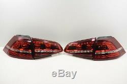 Oem Vw Golf Gti Original 7 Led Rear Tail Lights In 4er Set 5g0945307f