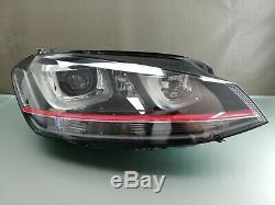 Original Golf Gti 7 Lights Headlights Bi-xenon Light Curve A 5g1941034
