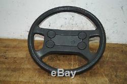 Original Leather Steering Vw Golf Gti 2 Gt Gl 16v Syncro Us Jetta Carat Gtd