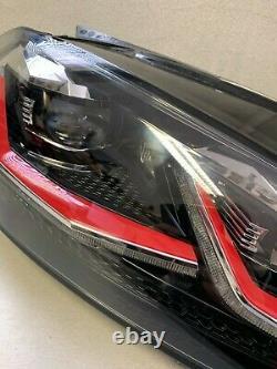 Original Vw Golf Gti 7 VII Facelift Led Headlights Ab 2017 Right 5g1941082e