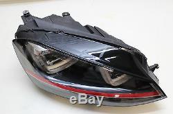 Original Vw Golf Gti 7 Xenon Headlights Led Headlamp Right 5g1941034a