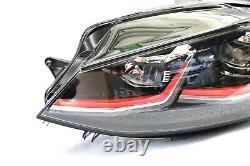 Original Vw Headlights Led Golf 7 VII 5g1 Gti Facelift Left + Control Device