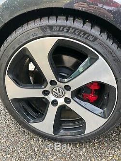 Original Wheels Volkswagen Oem Golf VII Gti 18 Inches + 4 Tires