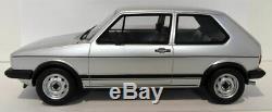 Otto 1/18 Scale Resin Ot563 Volkswagen Golf Gti Mk1 Rabbit Silver
