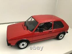 Ottomobile 1/12 Volkswagen Golf Gti Mk1 Red G013