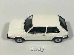 Ottomobile Ot562 Volkswagen Golf 1 Gti Rabbit White 1/18 Otto Miniature Car