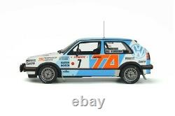 Pre Order Otto118 Volkswagen Golf Mk. 2 Gti Gr. At #7 Rally Available End Jan 21