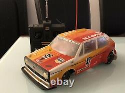 Rc Vintage Electric Tamiya Volkswagen Golf Gti Group 2 Kamei 1/12