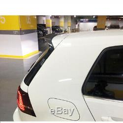 Roof Spoiler Rear Spoiler Carbon Pr Volkswagen Golf Mk7 Gti R 7 7.5 14-19 18