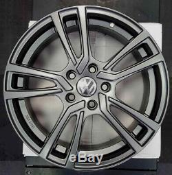 Set 4 Alloy Wheels 17 Volkswagen Golf 5 6 7 Bluemotion Gti Gtd Tdi Lpg Ece