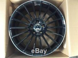 Set 4 Alloy Wheels 19 Volkswagen Golf 7 5 6 Gti Tdi Scirocco Gti R Gts Nad