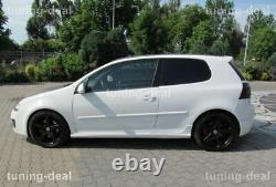 Side Suitable For Vw Volkswagen Golf 5 V Gti Threshold Spoiler Aileron