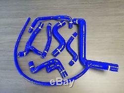 Silicone Hoses Reinforced Volkswagen Golf 3 Gti 16v Blue