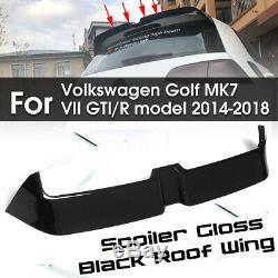 Spoiler Roof Spoiler Lip Gloss Volkswagen Mk7 VII O Style Golf 7 Gti R