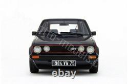 Volkswagen Golf 1 Gti 1800 More Ot078 1/18 Otto 0ttomodels Ottomobile Boxed
